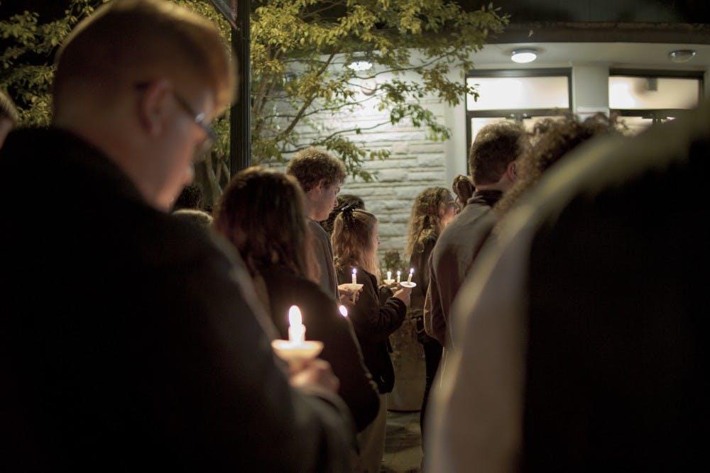 Candlelight vigil celebrates life of Z'ane Davis-Smith