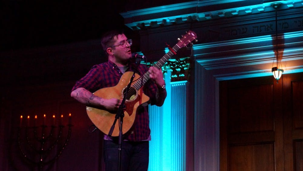 Kevin Devine and Evan Weiss go all out for intimate acoustic show