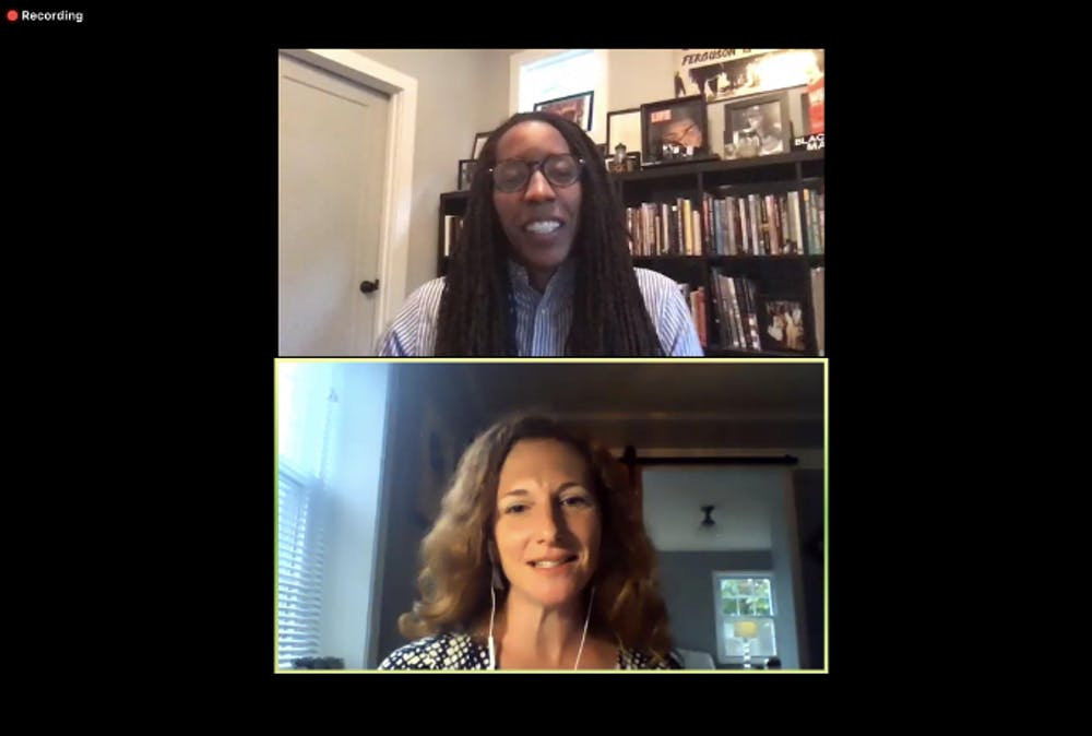Activist Bettina Love speaks on anti-racism at virtual SIS event