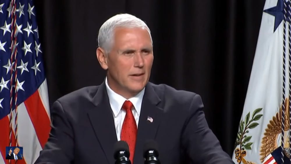 Mike Pence speaks at AU, sparking objections from students