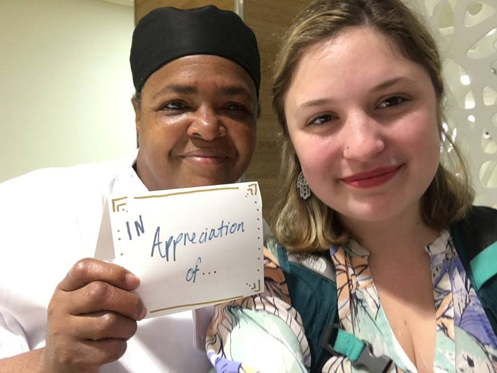 Spreading thanks to Aramark employees during #WorkerAppreciationDay