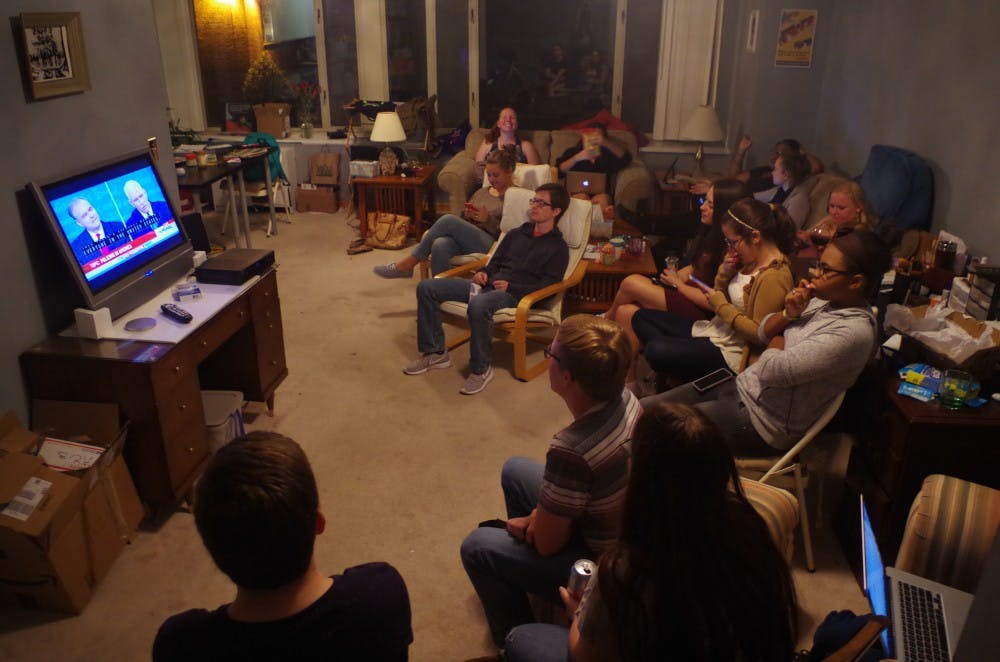 Students react to second presidential debate before candidates go head-to-head again