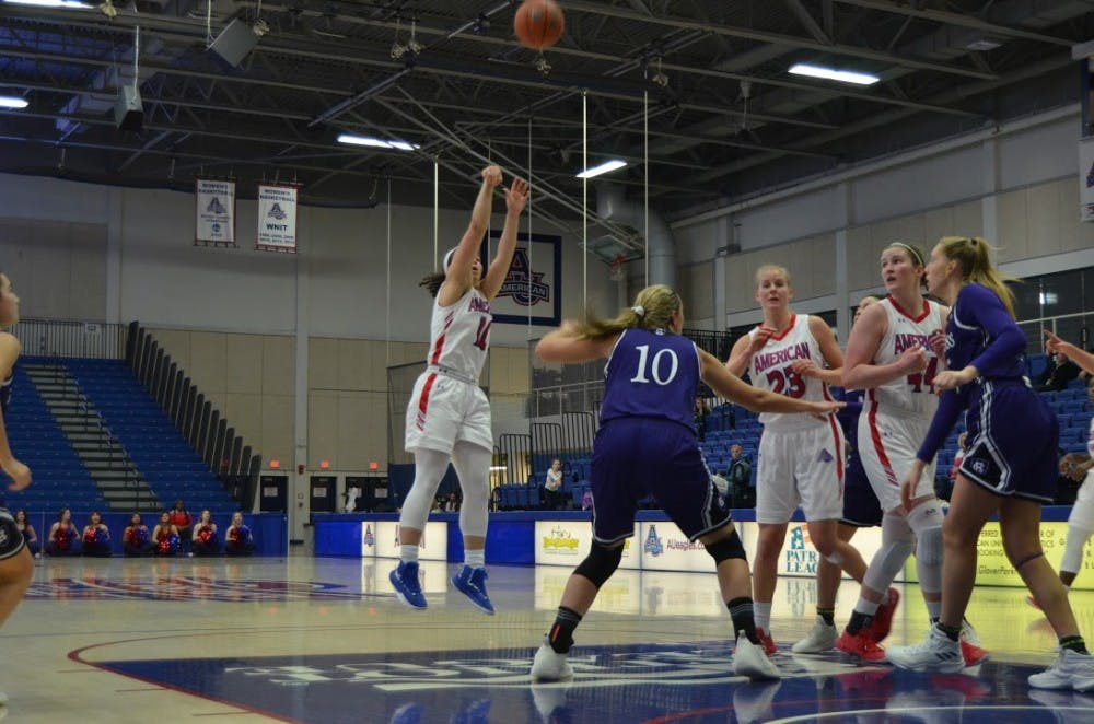 AU women's basketball advances to Patriot League semifinals