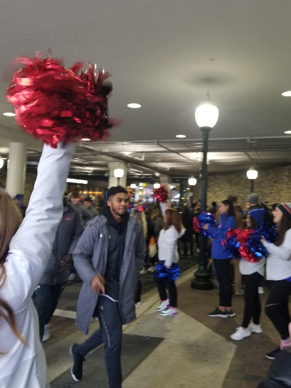 """AU hosts """"Rally in the Alley"""" tailgate"""