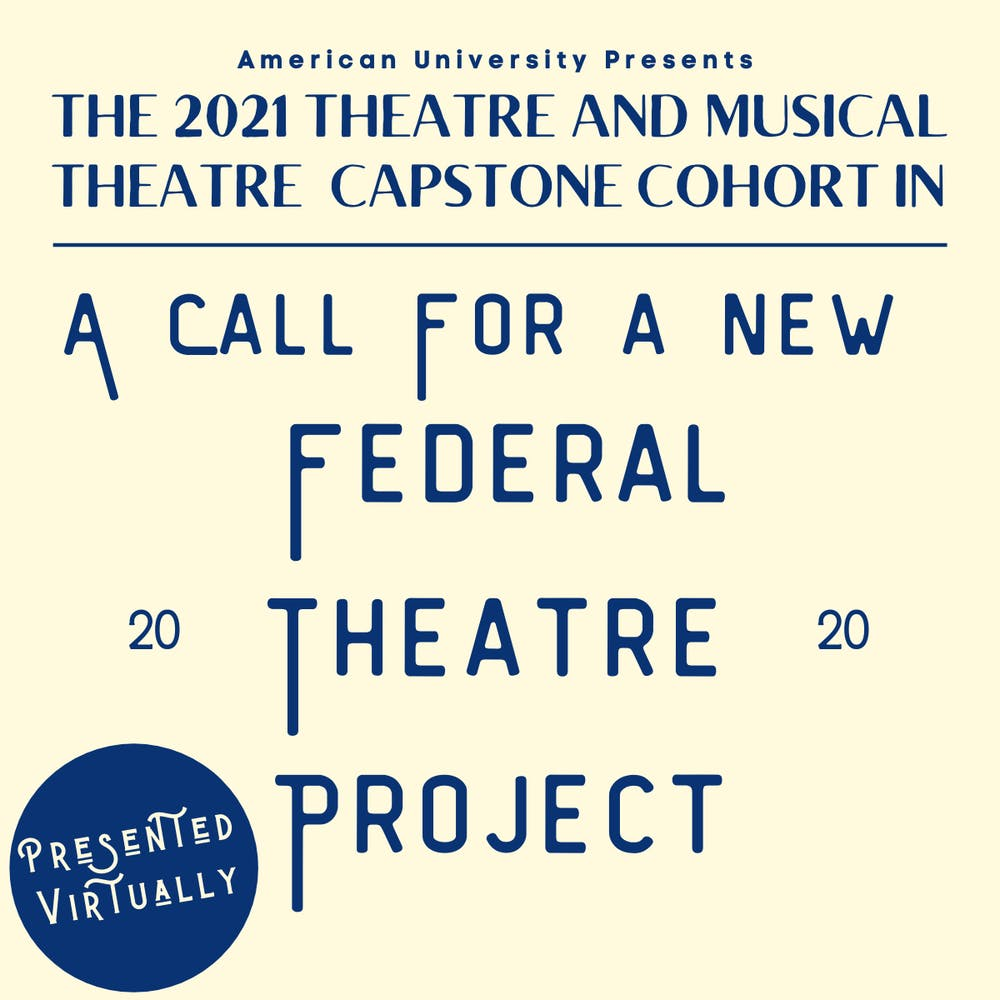'A Call for a New Federal Theatre Project' compares theater today with the past