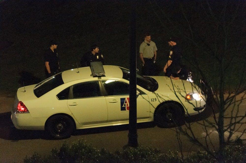 Two men arrested behind Kay Life Spiritual Center