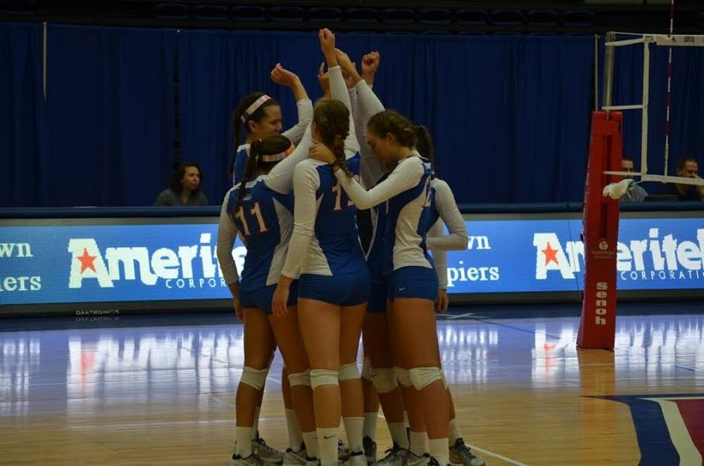 AU volleyball finishes the regular season with an undefeated Patriot League record