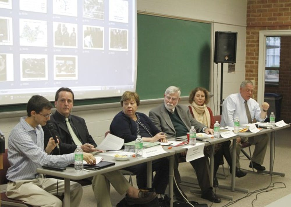 AU senior hosts panel on Army Corps' weapons excavation