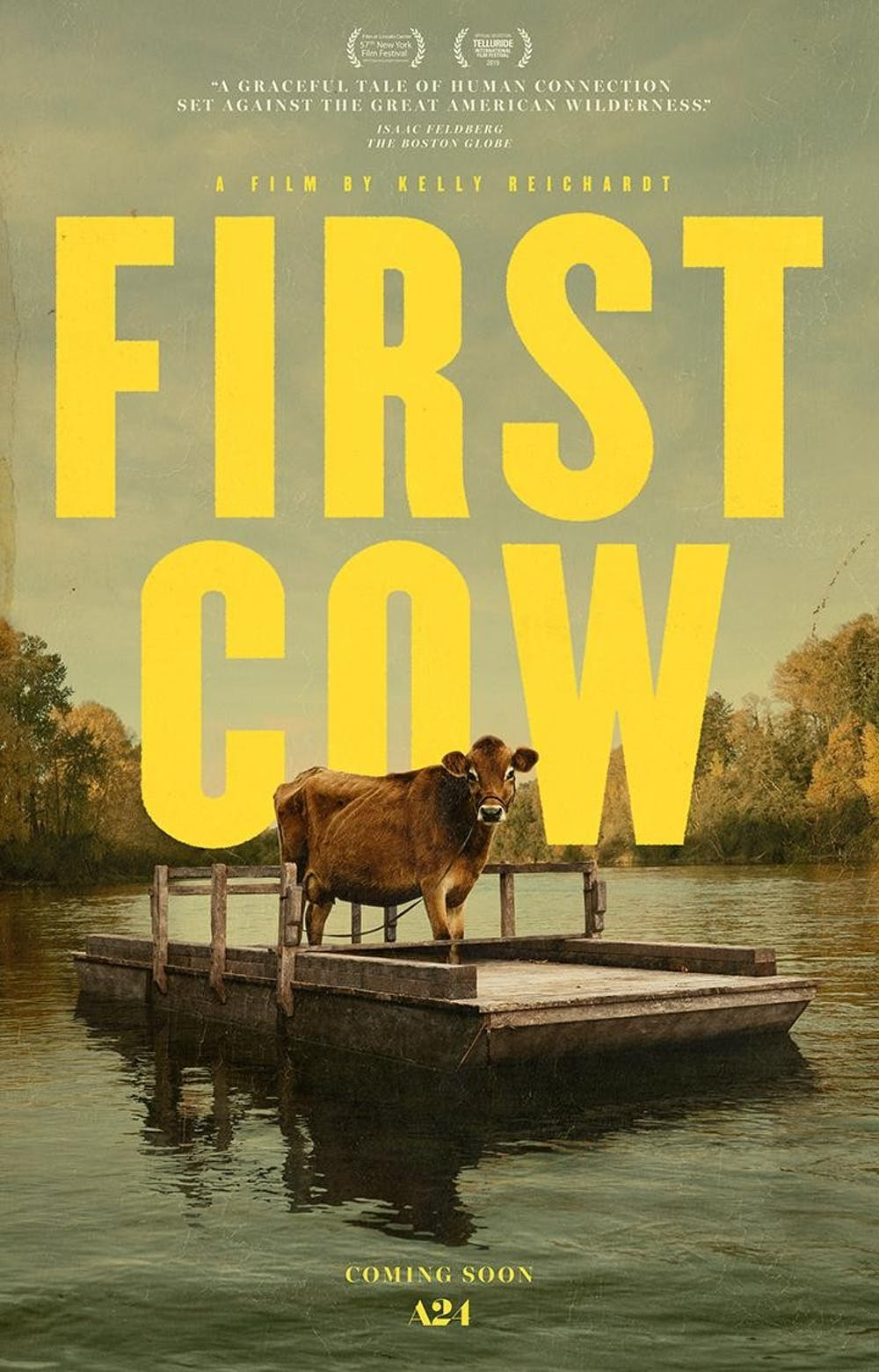 """First Cow"" director talks friendship and the filmmaking process"