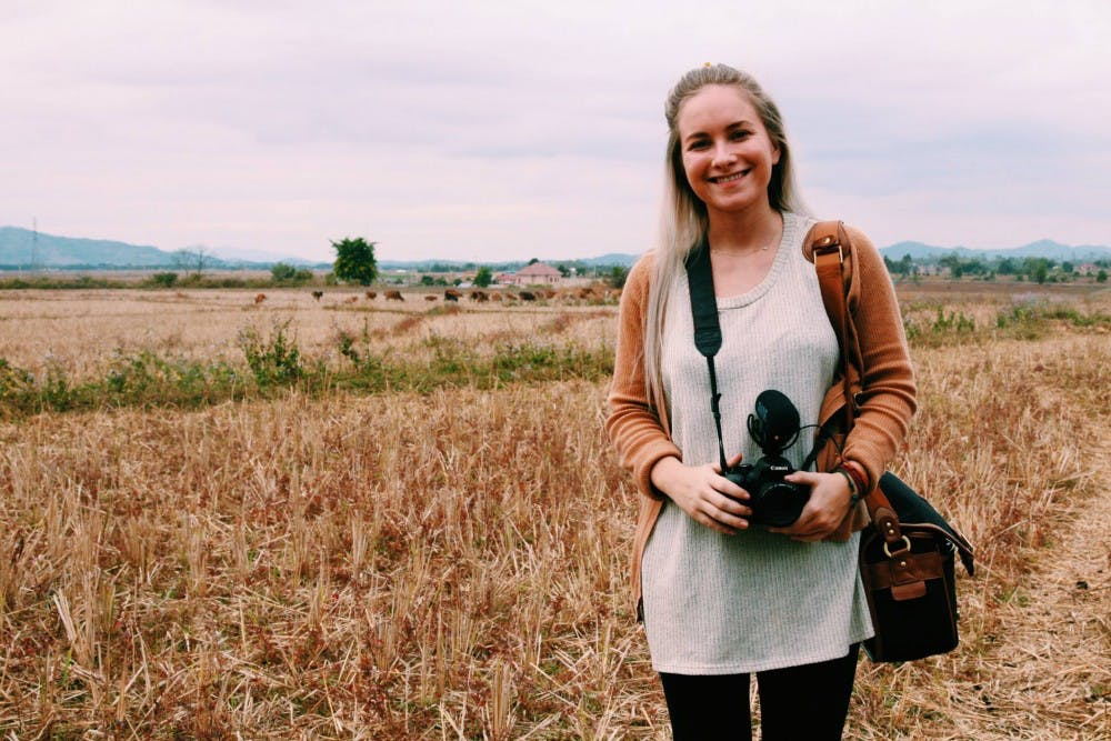 Senior film major hopes to create documentary on horrors in Laos