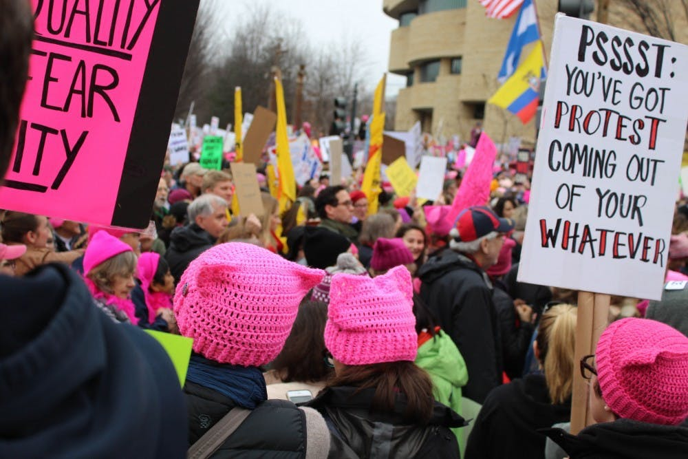 University changes sorority recruitment dates, allowing students to attend Women's March