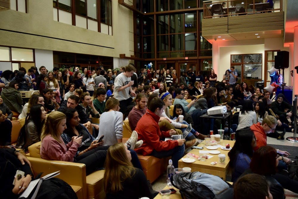 Students react to election results