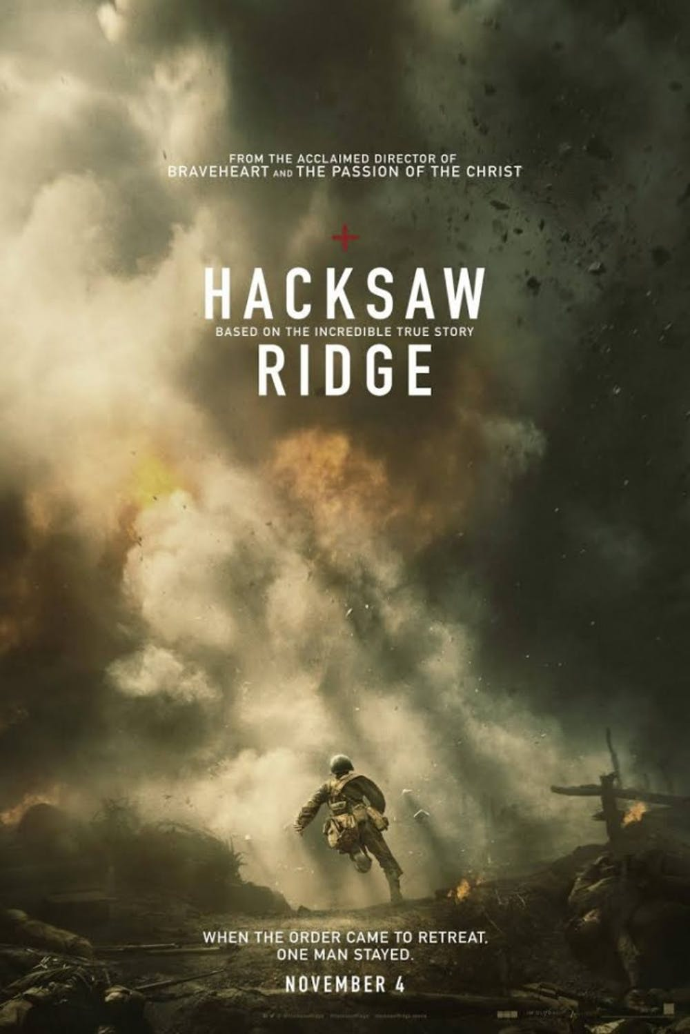 """Review: Religion and war combine in cliché """"Hacksaw Ridge"""""""