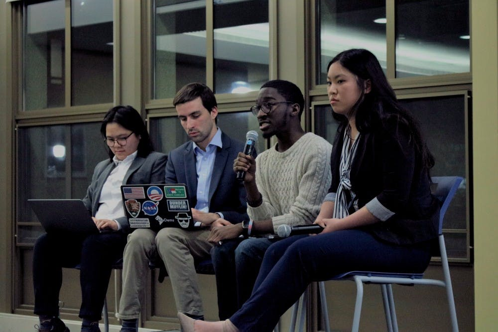 At AU Dems forum, candidates for Student Government executive board outline priorities