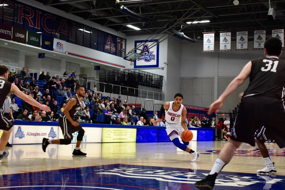 AU men's basketball falls to Lafayette in overtime thriller