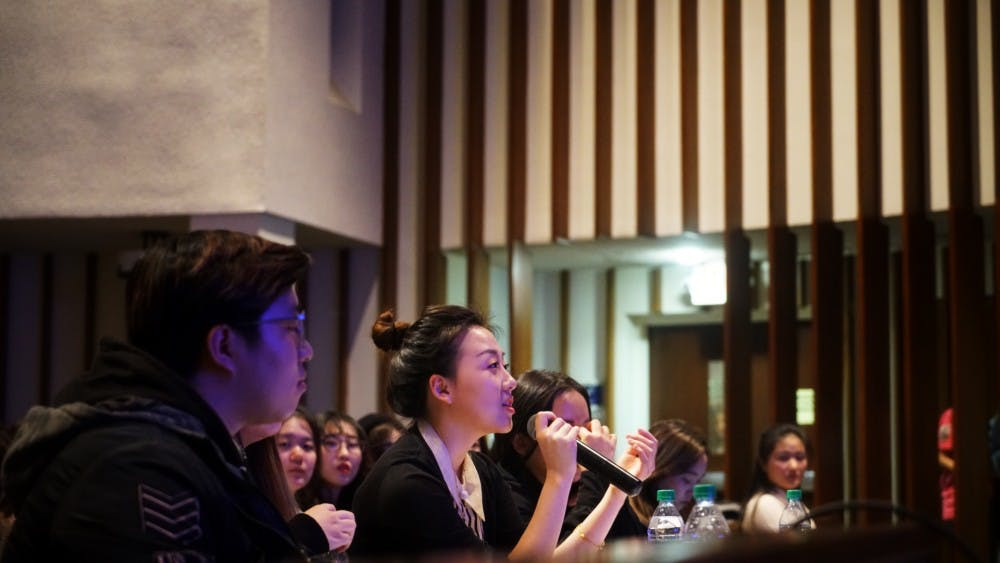 GW student wins Chinese Voice of D.C. competition held at AU