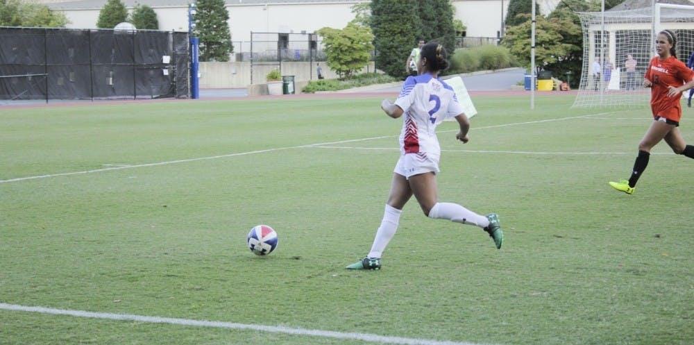 Women's soccer falls 3-0 in final game of season