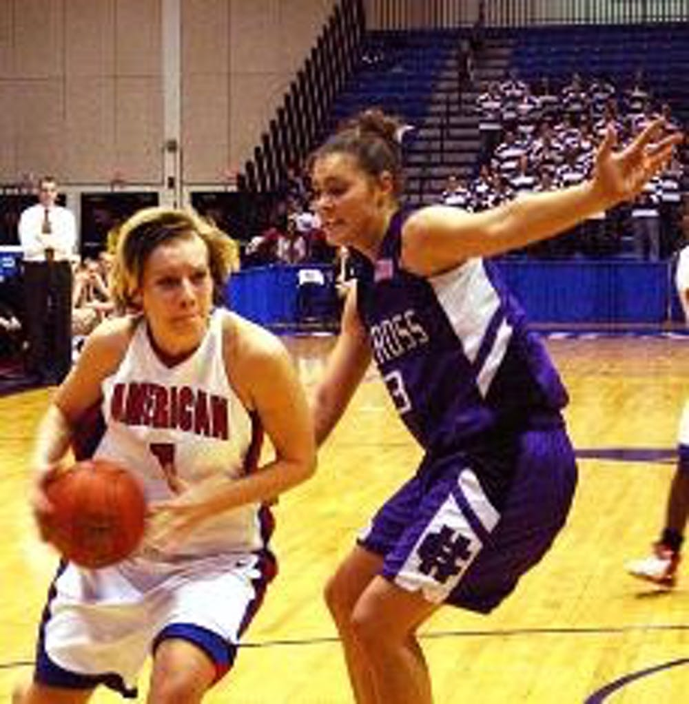Women's hoops come back for win over HC