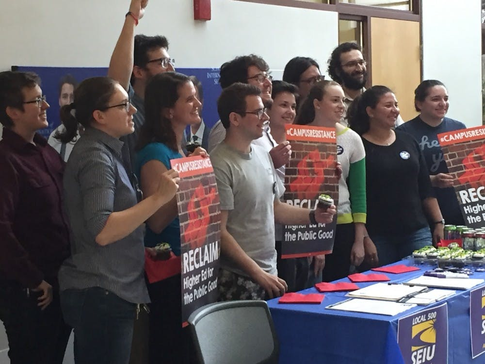 Graduate students form union