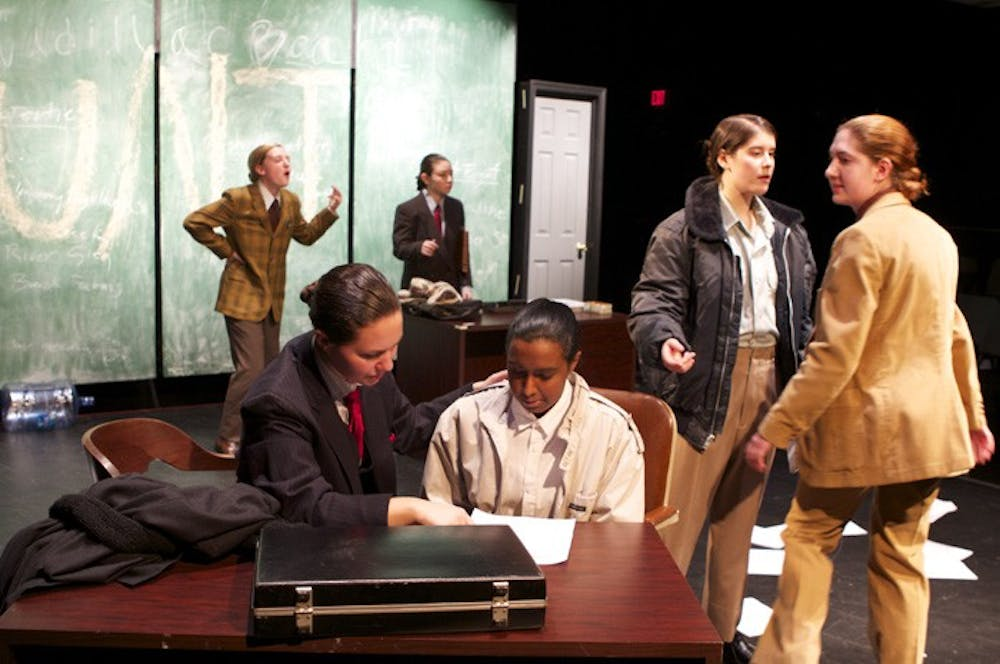 AU Department of Performing Arts stages all-female 'Glengarry'