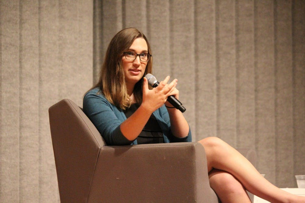 Sarah McBride, Delaware state senator and AU alumna, to speak at virtual event
