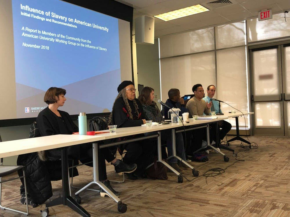 University group shares its findings on AU's connections to slavery at roundtable