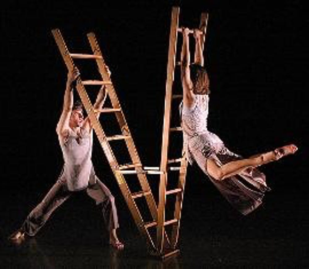 Modern dance troupe climbs to new heights