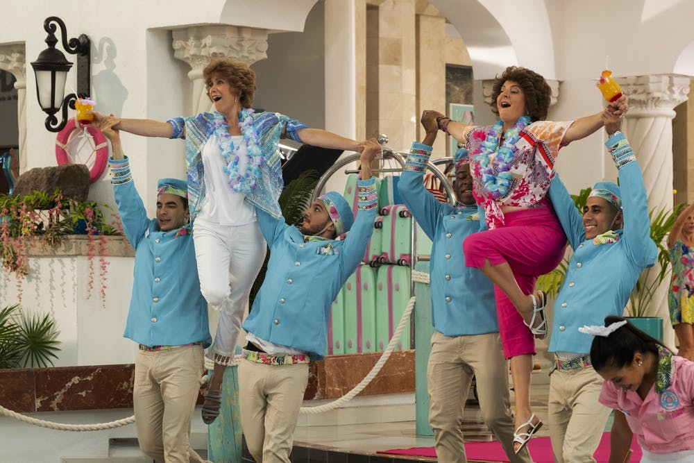 'Barb and Star Go to Vista Del Mar' is eccentric, loud and absolutely absurd
