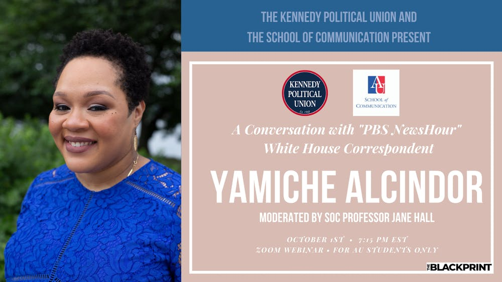 Yamiche Alcindor of PBS NewsHour will join KPU virtual event in October