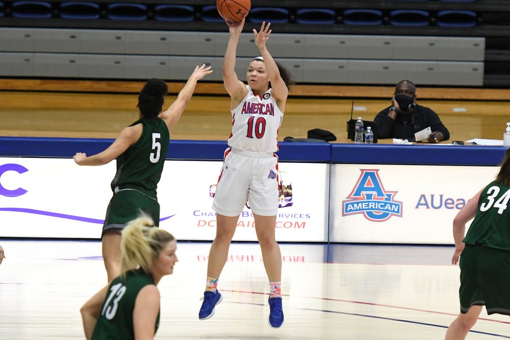 Women's basketball's Jade Edwards honored with First Team and All-Defensive selections