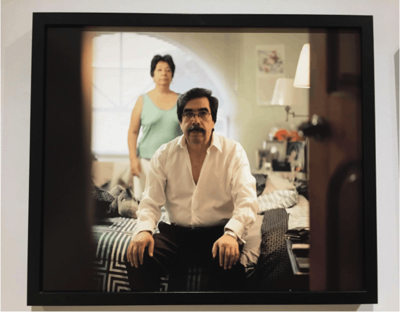 """Paola Paredes illuminates her experience of coming out to her family in her exhibition""""Unveiled"""" at Hillyer Art Space"""