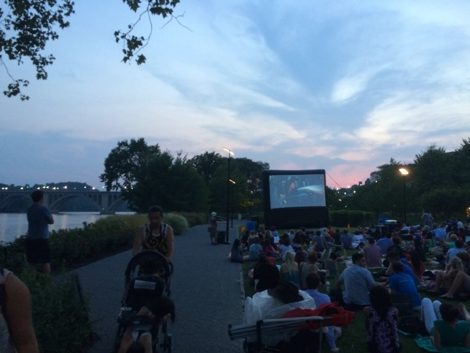 Blogger Brandon Latham reviews the Georgetown Waterfront Sunset Cinema Series, running every Tuesday night from July 7 through August 4.