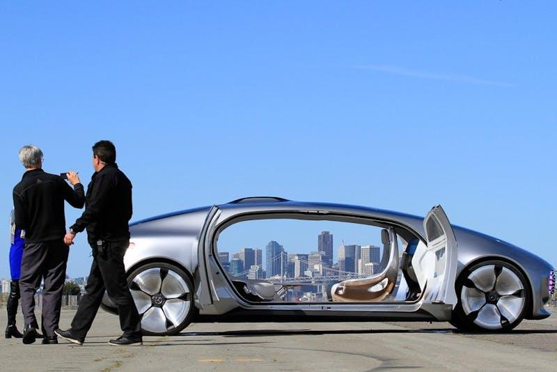 Devil's Grid self-driving car