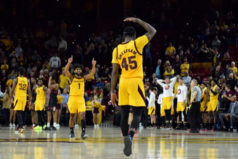 ASU men's basketball dominates Stanford in 80-62 victory