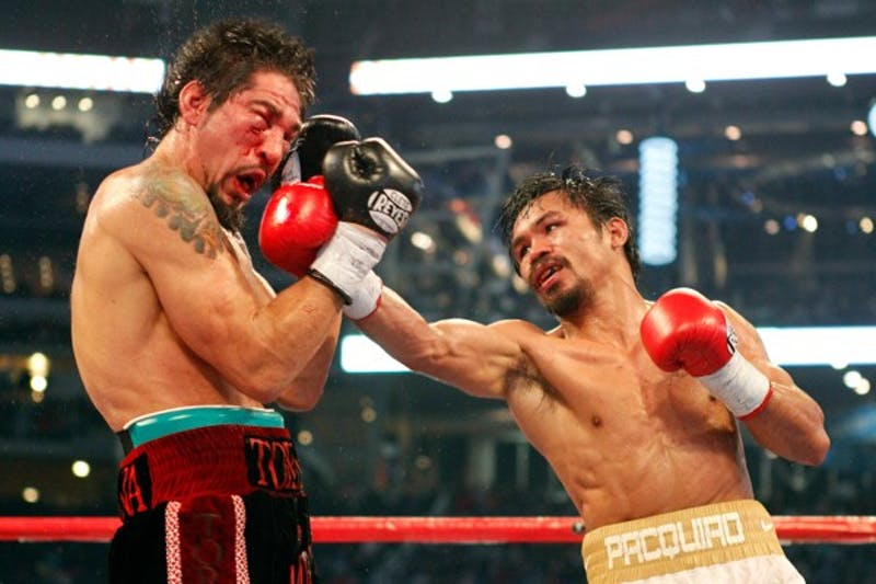 SPORTS BOX-MARGARITO-PACQUIAO 4 FT
