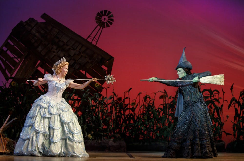 Ginna Claire Mason & Mary Kate Morrissey in WICKED. Photo by Joan Marcus (2)