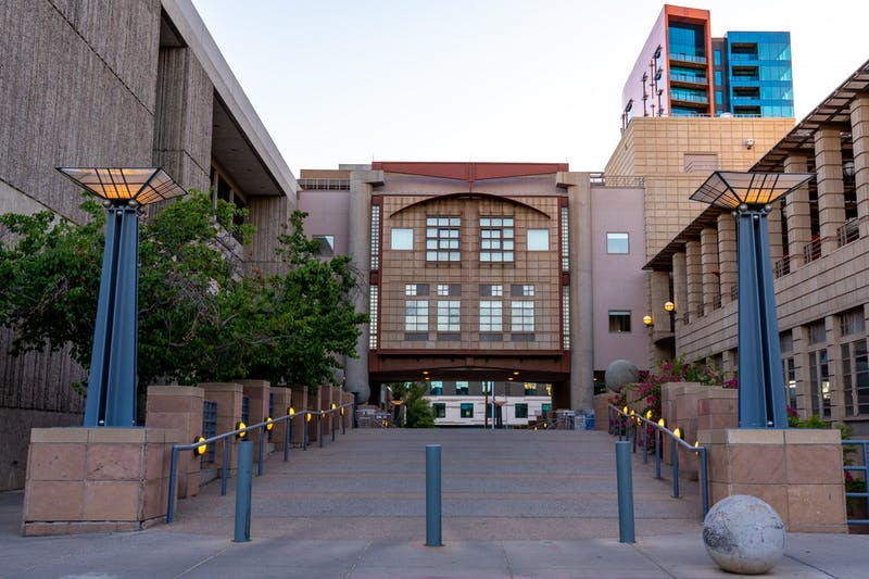 The ASU Herberger Institute for Design and the Arts is shown