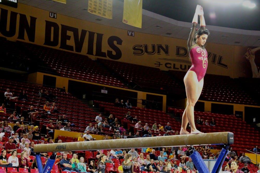 Asu Gymnastics Allex Sundby Feeling Prepared For Ncaa Regionals The State Press