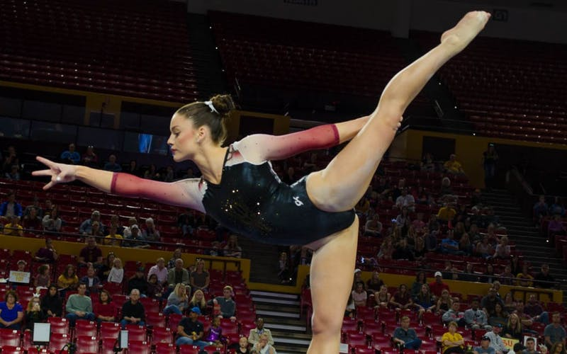 Justine Callis Balance Beam