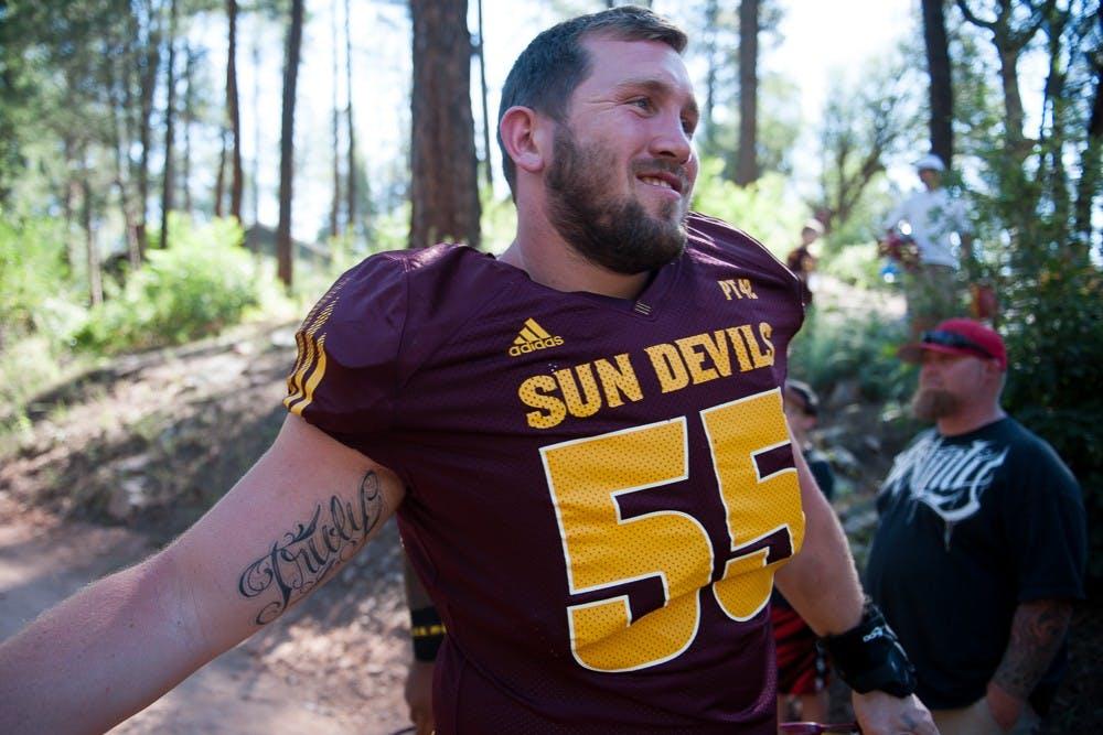 Chandler native Christian Westerman wraps up his ASU football ...