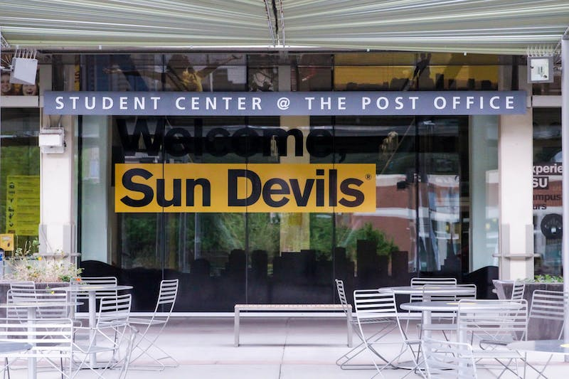 The Student Center at The Post Office on the Downtown campus in Phoenix is shown