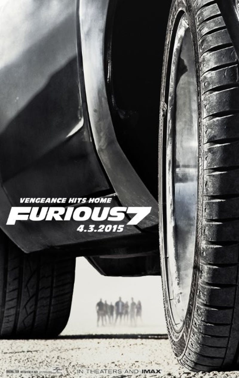 Furious 7- movie poster
