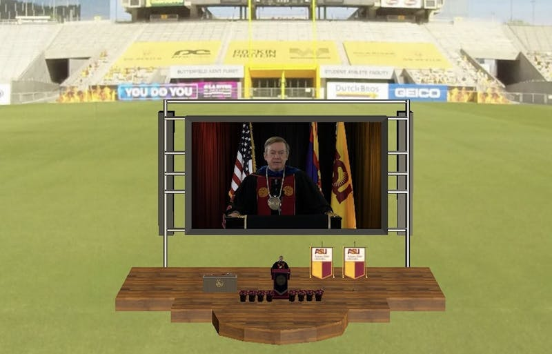 President Michael Crow on virtual graduation
