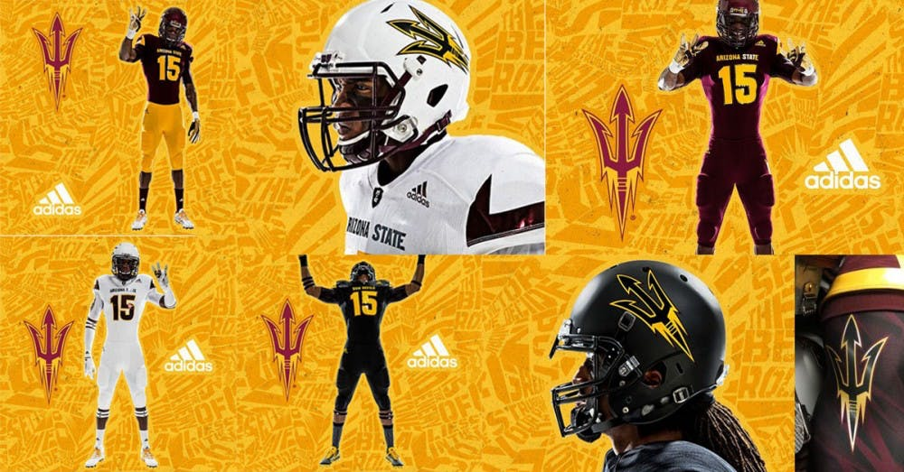 ASU football releases new official adidas uniforms - The State Press fb73374e8