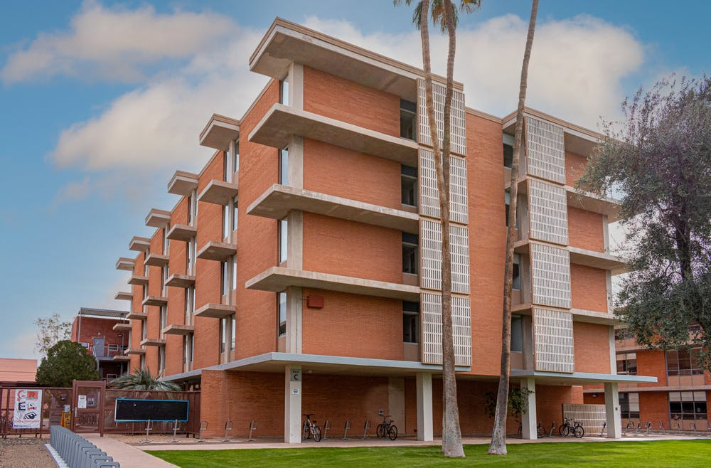 The Arcadia dorms at ASU are shown.
