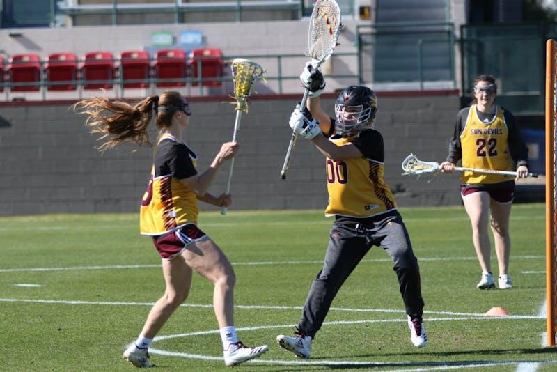 Lacrosse Practice Jan. 24