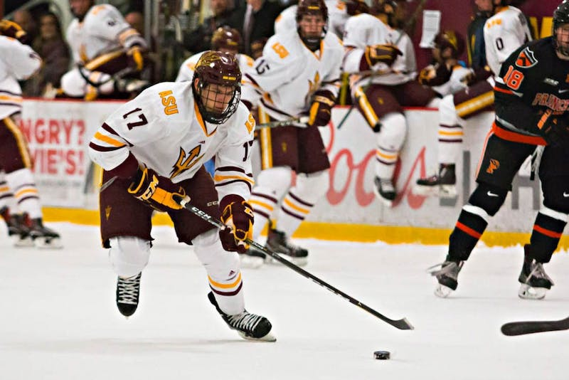 Buncis's hard work pays off for ASU men's hockey