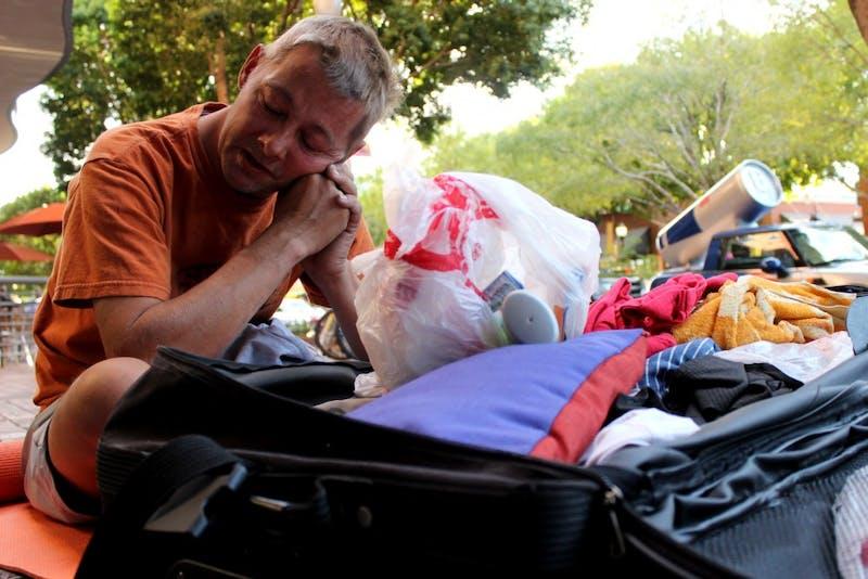 Homeless Near Campus