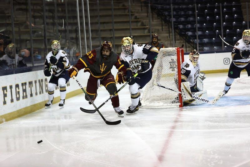 Notre Dame v ASU Hockey