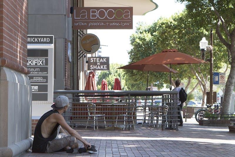 Homeless on Mill